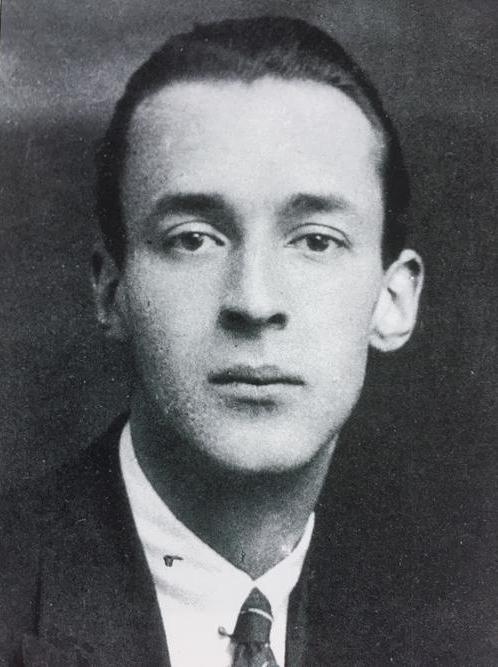 VN in 1922 at Cambridge, where he studied French and Russian at Trinity from October 1919 until his graduation in June, 1922. © The Vladimir Nabokov Literary Foundation.